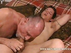 Young Baffle Fucks Some Old Ass