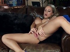 Splendid Irish colleen Nicole Aniston loves unrefined domicile alone. She quickly gets completely naked