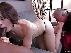 Sarah Shevon is fuck-a-thon hungry cuz her disabled older husband