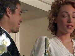 Gorgeous babe thither curly crawl Lily Labeau coupled with her lover